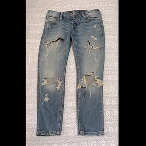✨Silver Jeans✨ Blue and Ripped
